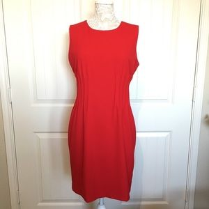 Calvin Klein Red Shift Dress